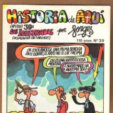 Cómics: HISTORIA DE AQUI POR FORGES - CAPITULO 39. Lote 115130190