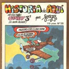 Cómics: HISTORIA DE AQUI POR FORGES - CAPITULO 38. Lote 115130171