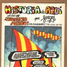 Cómics: HISTORIA DE AQUI POR FORGES - CAPITULO 16. Lote 115130062