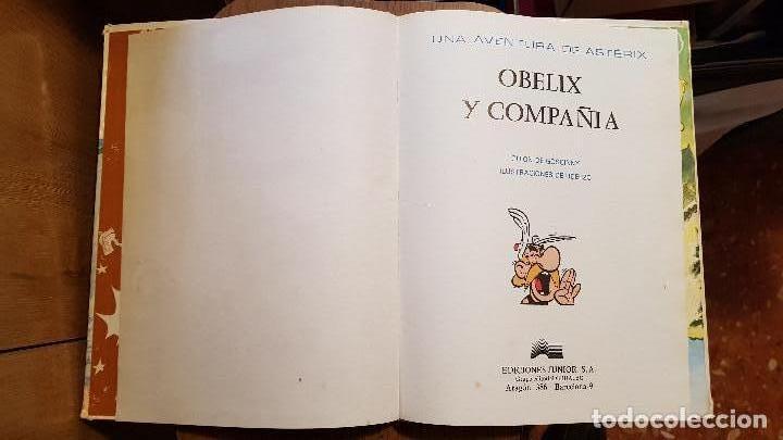 Cómics: ASTERIX OBELIX Y COMPAÑIA ED. JUNIOR. TAPA DURA (1976) - Foto 3 - 108383839