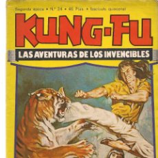 Cómics: KUNG-FU. Nº 24. EDICIONES AMAIKA. (C/A60). Lote 108710819
