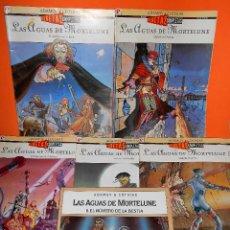 Cómics: LAS AGUAS DE MORTELUNE. COTHIAS & ADAMOV. 6 NUMEROS. COMPLETA Y DIFICIL. BUEN ESTADO. GLENAT. Lote 108729719