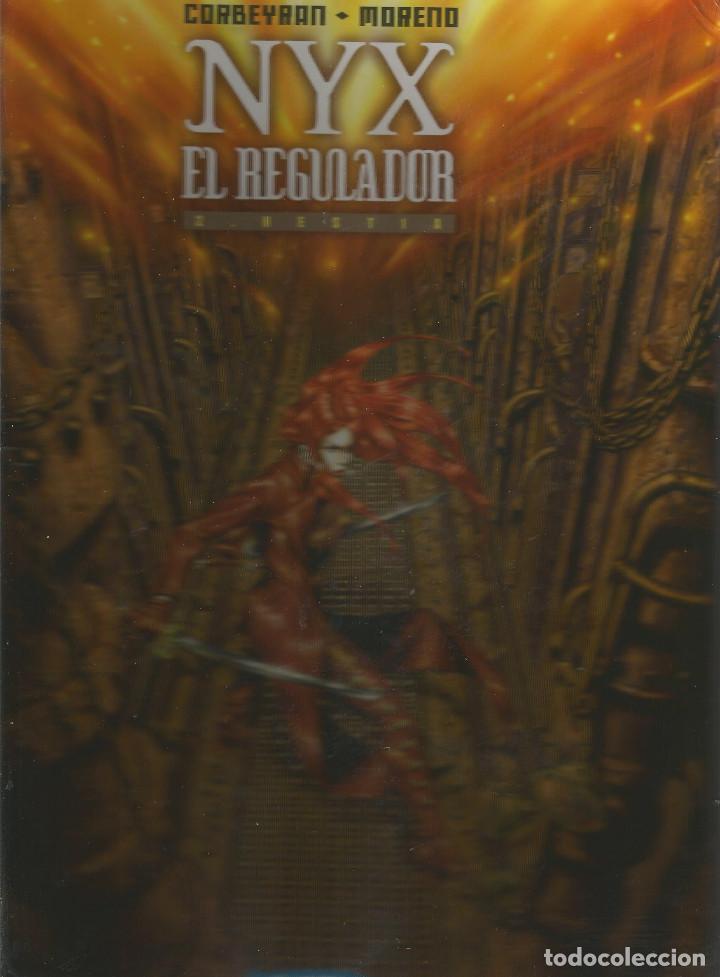 NYX. EL REGULADOR HESTIA Nº 2 DE NYX COLECCIÓN FANTASÍA EDITORIAL ROSSELL (Tebeos y Comics - Comics otras Editoriales Actuales)
