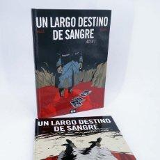 Cómics: UN LARGO DESTINO DE SANGRE 1 Y 2. COMPLETA (BOLLÉE / BEDOUEL) 12 BIS, 2010. OFRT ANTES 28E. Lote 206157062