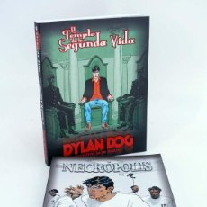 Cómics: DYLAN DOG 5 Y 6. EL TEMPLO DE LA SEGUNDA VIDA / NECRÓPOLIS (VVAA) ALETA, 2010. OFRT ANTES 30E. Lote 108893103