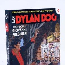 Cómics: MAXI DYLAN DOG 2. ESPECIAL GIOVANNI FREGHIERI ALETA, 2012. BONELLI. OFRT ANTES 12,95E. Lote 220872508