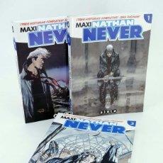Cómics: MAXI NATHAN NEVER 1, 2 Y 3. COMPLETA (VVAA) ALETA, 2012. OFRT ANTES 38,85E. Lote 244696295