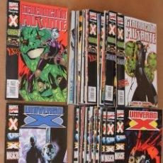 Cómics: GENERACION MUTANTE / UNIVERSO X - PLANETA, FORUM, AÑO 2000 - COMPLETA 18 + 16 EJEMPLARES. Lote 108991019