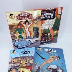 Comics: LAS INVESTIGACIONES DE MARGOT 1, 2, 3 Y 4 COMPLETA (OLIVIER MARIN) NETCOM2, 2012. OFRT ANTES 60E. Lote 193355832
