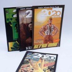 Cómics: 2020 VISIONS 1 A 4 COMPLETA. GANAS DE VIVIR, LA TORMENTA, REPRO MAN, RENEGADO RECERCA, 2004. OFRT. Lote 219588811