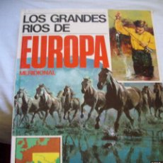 Cómics: TOMO LOS GRANDES RIOS DE EUROPA MERIDIONAL ENCICLOPEDIA GEOGRAFICA EDITORIAL AFHA. Lote 109001871