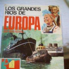 Cómics: TOMO LOS GRANDES RIOS DE EUROPA SEPTENTRIONAL ENCICLOPEDIA GEOGRAFICA EDITORIAL AFHA. Lote 109002051