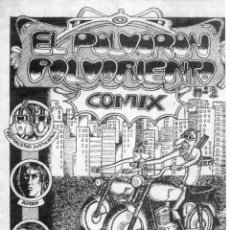 Cómics: FANZINE EL POLVORON POLVORIENTO COMIX Nº2. FOTOCOPIADO. Lote 58557001