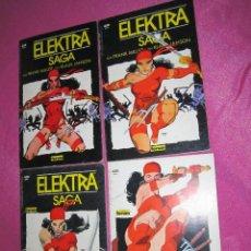 Cómics: ELEKTRA SAGA 4 COMPLETA 4 TOMOS PRESTIGIO. C111. Lote 109039371