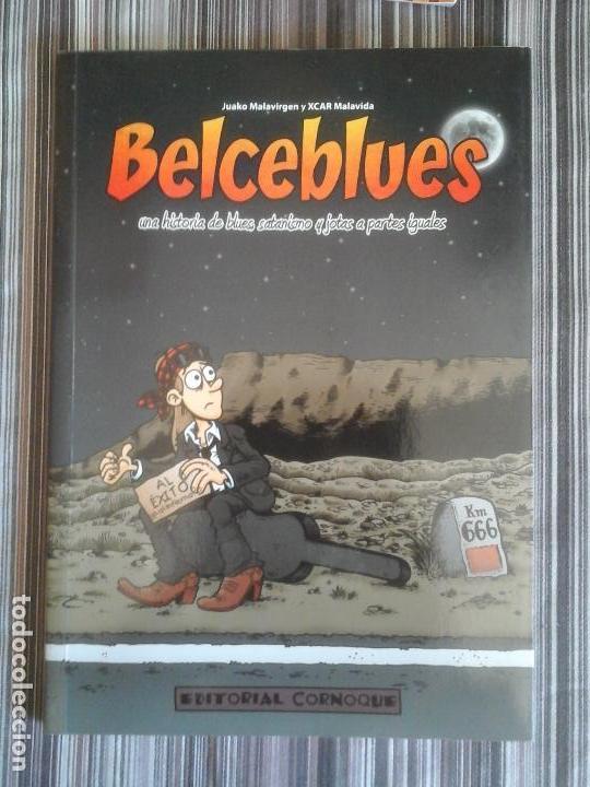 EDITORIAL CORNOQUE: BELCEBLUES, BLUES, SATANISMO Y JOTAS. JUAKO MALAVIRGEN, XCAR (Tebeos y Comics - Comics otras Editoriales Actuales)
