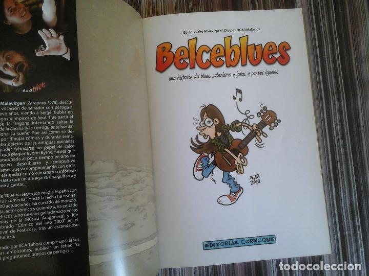 Cómics: EDITORIAL CORNOQUE: BELCEBLUES, BLUES, SATANISMO Y JOTAS. JUAKO MALAVIRGEN, XCAR - Foto 2 - 109130571