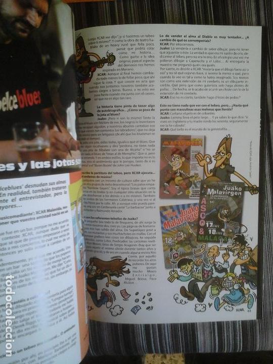 Cómics: EDITORIAL CORNOQUE: BELCEBLUES, BLUES, SATANISMO Y JOTAS. JUAKO MALAVIRGEN, XCAR - Foto 8 - 109130571