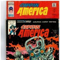 Cómics: CAPITÁN AMÉRICA V.3 -LOTE DE 18 NÚMEROS- ENTRE EL 20 Y EL 46. VÉRTICE 1976 VER NOTA. Lote 109281563