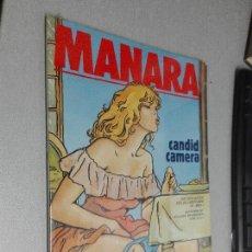 Cómics: MANARA CANDID CAMERA / RECOPILACIÓN DE LAS AVENTURAS DE MIEL... / NEW COMIC. Lote 109393387