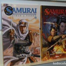 Cómics: SAMURAI CIELO Y TIERRA COMPLETA 2 TOMOS Nº 1 Y 2 - GLENAT - OFERTA. Lote 109491451