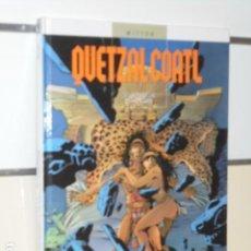 Cómics: QUETZALCOALT TOMO 3 LAS PESADILLAS DE MOCTEZUMA MITTON - GLENAT - OFERTA. Lote 109492759