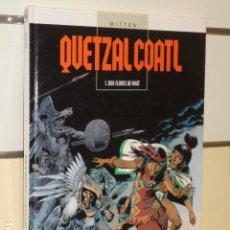 Cómics: QUETZALCOALT TOMO 1 DOS FLORES DE MAIZ MITTON - GLENAT - OFERTA. Lote 109492895