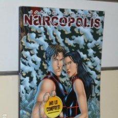 Cómics: NARCOPOLIS JAIME DELANO - GLENAT - OFERTA. Lote 109494671