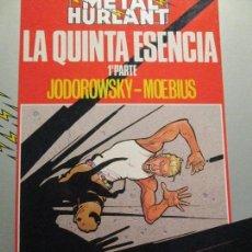 Cómics: MOEBIUS-JODOROWSKY-LA QUINTA ESENCIA. Lote 109958535