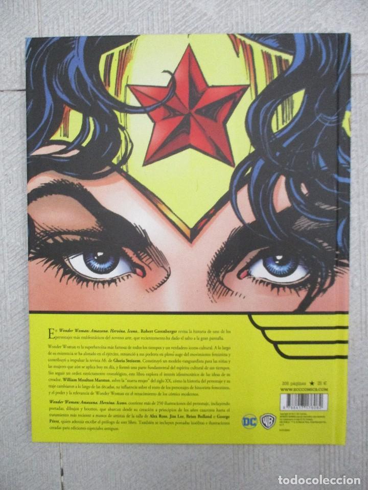 Cómics: WONDER WOMAN NUEVO DE LIBRERIA TAPA DURA EDITADO POR ECC - DC COMICS - FORMATO LUJO 208 PAGINAS - Foto 2 - 110647623