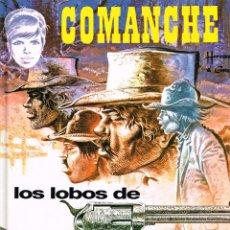 Cómics: COMANCHE.LOS LOBOS DE WYOMING.(TAPA DURA).EDICIONES JUNIOR.GRIJALBO.. Lote 110123415
