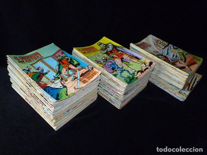 LOTE DE 243 NÚMEROS EL GUERRERO DEL ANTIFAZ. EDITORA VALENCIANA, 1972-78 (Tebeos y Comics - Comics Colecciones y Lotes Avanzados)