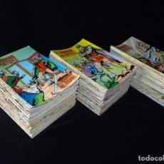 Cómics: LOTE DE 243 NÚMEROS EL GUERRERO DEL ANTIFAZ. EDITORA VALENCIANA, 1972-78. Lote 110203563