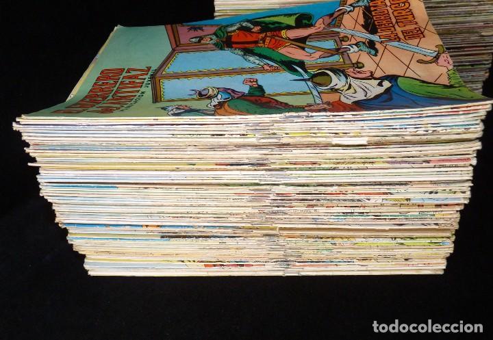 Cómics: LOTE DE 243 NÚMEROS EL GUERRERO DEL ANTIFAZ. EDITORA VALENCIANA, 1972-78 - Foto 2 - 110203563