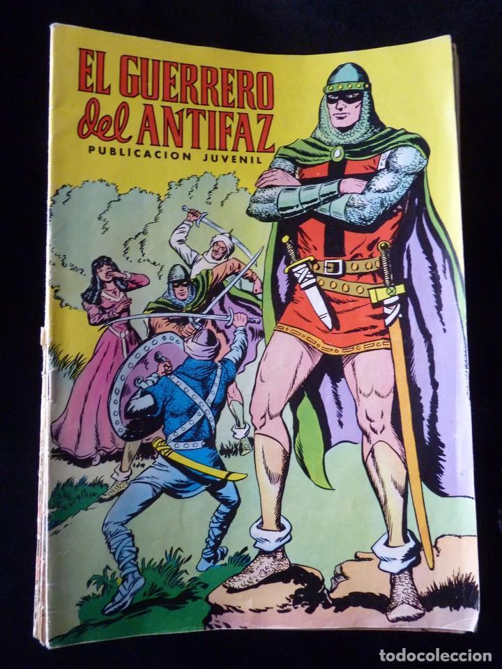 Cómics: LOTE DE 243 NÚMEROS EL GUERRERO DEL ANTIFAZ. EDITORA VALENCIANA, 1972-78 - Foto 5 - 110203563