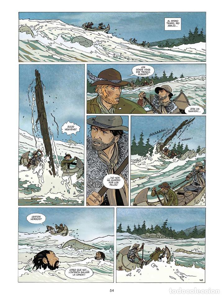 Cómics: Cómics. Wild River - Roger Seiter/Vincent Warner (Cartoné) DESCATALOGADO!!! OFERTA!!! - Foto 3 - 110414495