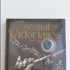 Cómics: ASESINATOS VICTORIANOS. RICK GEARY. ROSSELL. W. Lote 110435723