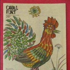 Cómics: REVISTA CAVALL FORT - Nº 297 - SEGUNDA QUINZENA ENERO 1975 .... R-8070. Lote 110439999
