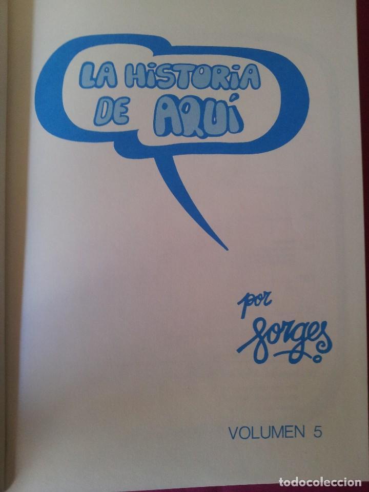 Cómics: LA HISTORIA DE AQUI POR FORGES - TOMO 5 - 3ª EDICION 1985 - Foto 2 - 110478295