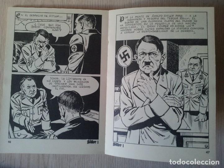 Cómics: HITLER Nº 1, LOS ULTIMOS DIAS - PUBLICACION PARA ADULTOS - MERCOCOMIC 1977 - Foto 3 - 110575335