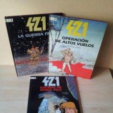 Cómics: ERIC MALTAIRE Y STEPHEN DESBERG - 421 (COLECCION COMPLETA) 3 TOMOS - TIMUN MAS 1992. Lote 110666927