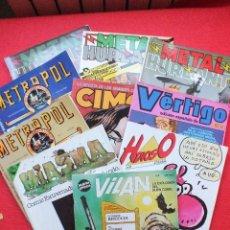 Cómics: METAL HURLANT METROPOL VILAN MIASMA HDIOSO VERTIGO CIMOC LOTE 10 COMICS REVISTAS. Lote 110824267