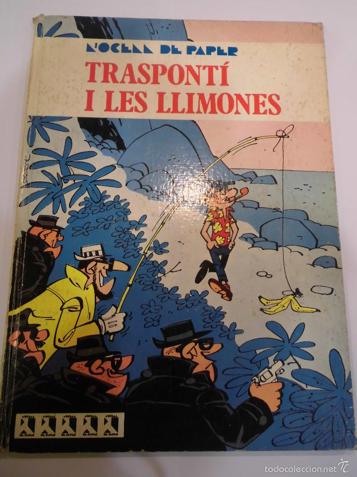TRANSPORTI I LES LLIMONES - TAPA DURA - EDIT ED JAIME LIBROS - 1970 (Tebeos y Comics - Comics otras Editoriales Actuales)
