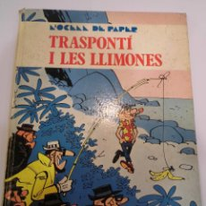 Cómics: TRANSPORTI I LES LLIMONES - TAPA DURA - EDIT ED JAIME LIBROS - 1970. Lote 110824403