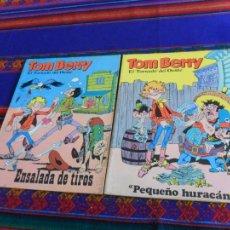 Cómics: TOM BERRY 1 2 4 6 EUREDIT PEQUEÑO HURACÁN ENSALADA DE TIROS PLEITO EN REMOJO 2 BLACK BILL REY FUGAS. Lote 85995072