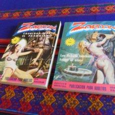 Cómics: ZORDON EDICIÓN ESPECIAL NºS 2 3 4 5 6 7 8(2) 9(2) 10 11(2). MERCOCOMIC 1978. 75 PTS. SUELTOS.. Lote 39186969