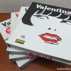 Cómics: VALENTINA TOMOS 1,2,3 Y 4. - GUIDO CREPAX - -NORMA 2008- . Lote 111177879