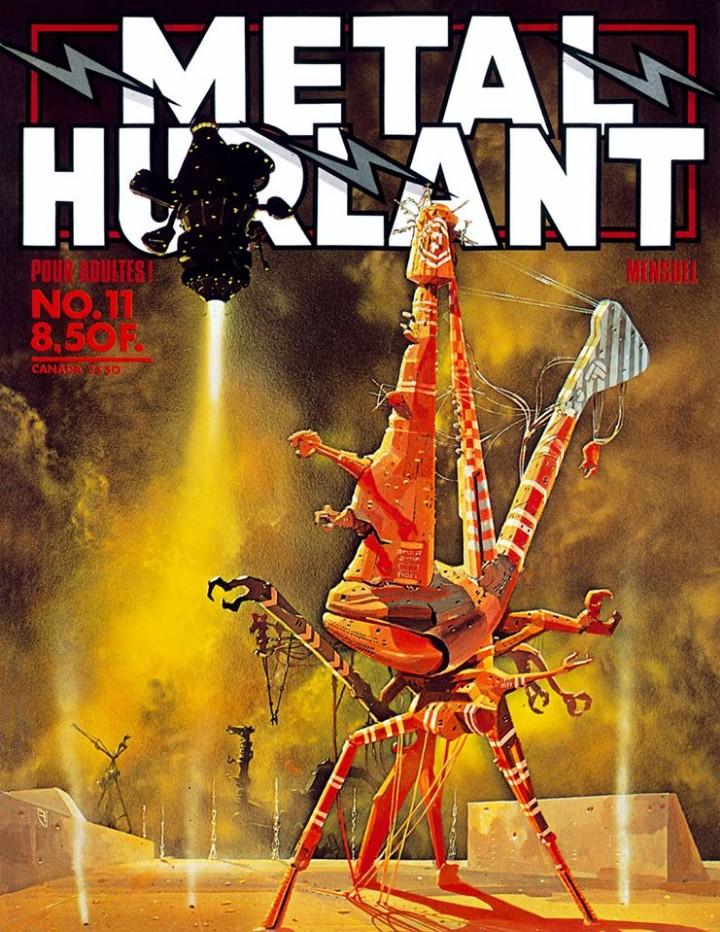 METAL HURLANT NO.11 (Tebeos y Comics - Comics otras Editoriales Actuales)