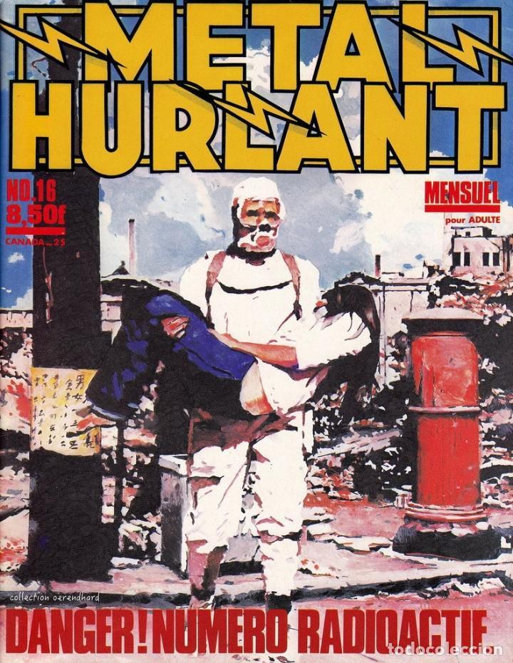METAL HURLANT NO.16 (Tebeos y Comics - Comics otras Editoriales Actuales)