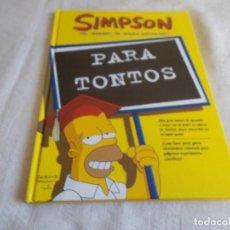 Cómics: SIMPSON ¡EL CEREBRO DE HOMER REPARADO!. Lote 111332207