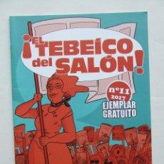 Cómics: TEBEO EL TEBEICO DEL SALON Nº 11 2017 ESPECIAL ASTERIX Y OBELIX HOMENAJE A RENE GOSCINNY. Lote 248992695